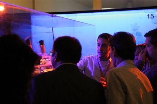 """Luis Ferreiro explica a los periodistas las claves de la exposición """"TITANIC the exhibition"""""""