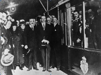 Carlos Mendoza - Inauguracion Metro de Madrid