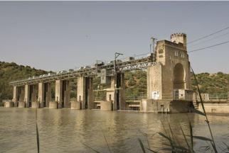 Imagen presa del Guadalquivir